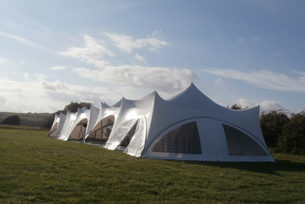 Long Trapeze Marquees