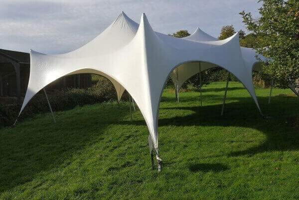 Trapeze Marquee Hire